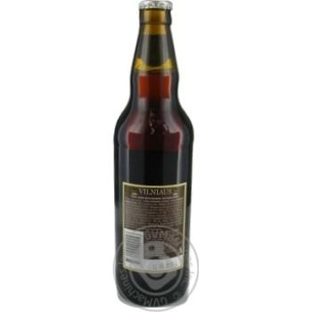 Пиво Vilniaus Alus Dark темное 5,6% 0,5л - купить, цены на Novus - фото 2