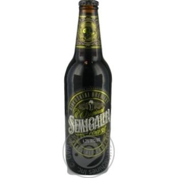 Пиво Semigalia Сoast Black Ale темне 4,2% 0,5л