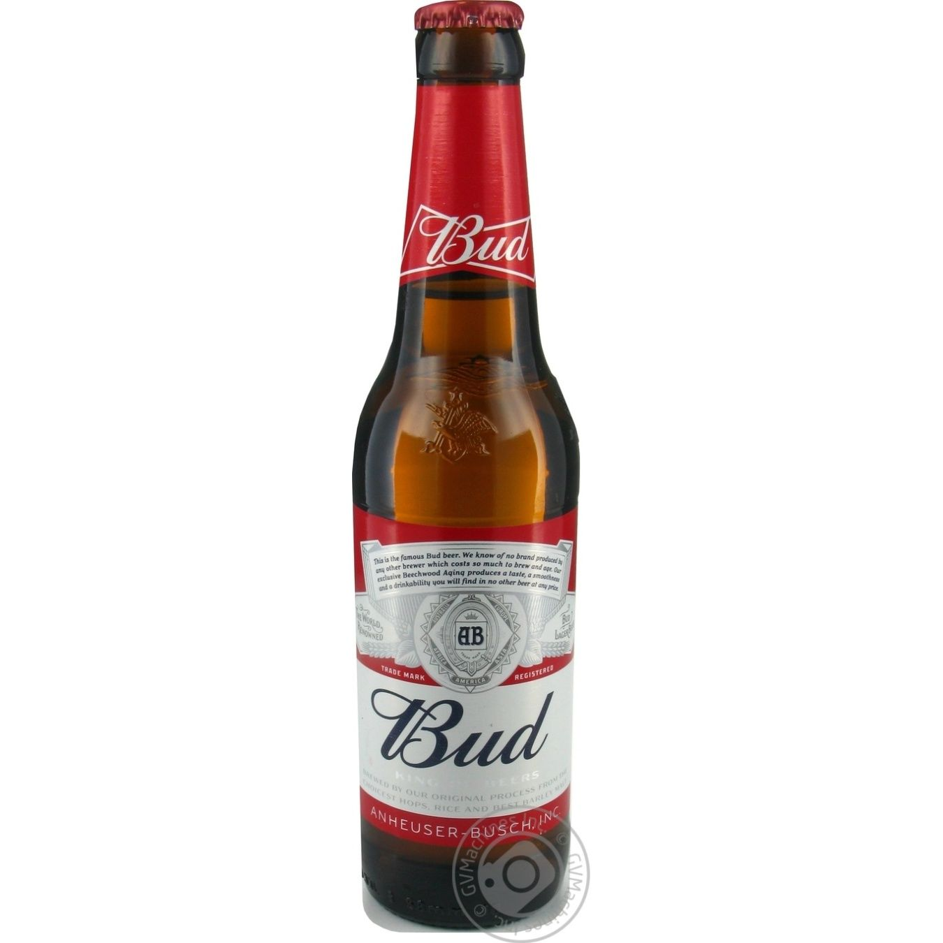 Bud Lager Beer 5% 0,33l glass → Drinks → Alcohol and