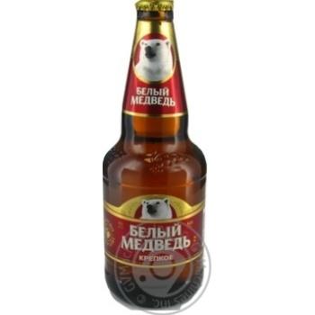 Пиво Белый медведь Крепкое светлое 0,45л