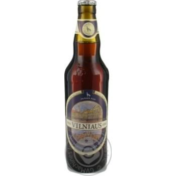 Пиво Vilniaus темне нефільтроване 5,8% 0,5л - купити, ціни на Novus - фото 3