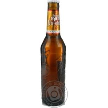 Пиво світле Bohemia Regent Prezident 6% 0,33л скл/пл