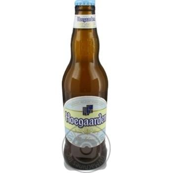 Пиво Hoegaarden светлое 0,33л стекло