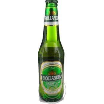 Пиво Голландия светлое 5% 330мл Голландия