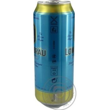 Пиво Lowenbrau Original светлое ж/б 5.2% 0,5л - купить, цены на Novus - фото 2