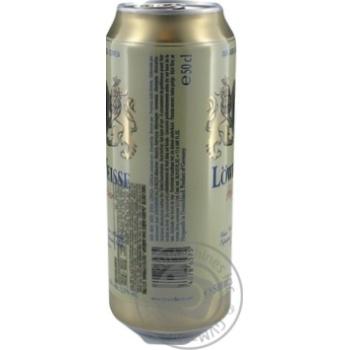 Пиво Lowenbrau Weiz светлое 0,5л ж/б - купить, цены на Novus - фото 2