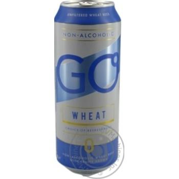 Пиво Svyturys Go Wheat светлое безалкогольное 0,5л ж/б