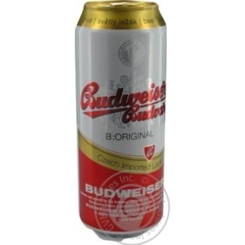 Пиво Budweiser Budvar светлое 5%об. 0,5л