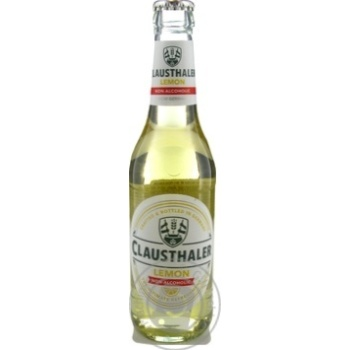 Clausthaler Lemon non-alcoholic beer 0,33l - buy, prices for Novus - image 1