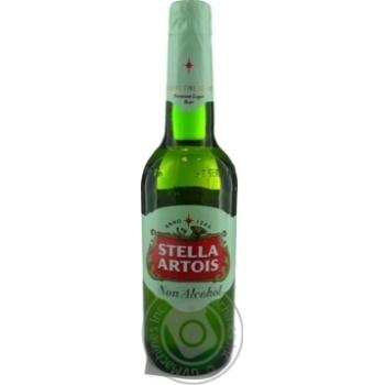 Пиво Stella Artois светлое безалкогольное 0,5% 0,5л - купить, цены на МегаМаркет - фото 3