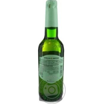Пиво Stella Artois светлое безалкогольное 0,5% 0,5л - купить, цены на МегаМаркет - фото 2