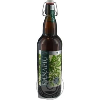 Пиво Kanapiu напівтемне 5% 1л