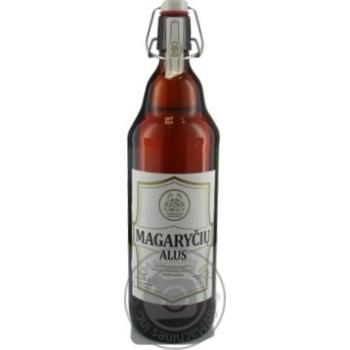 Пиво Magaryciu Alus полутемное 5,8% 1л - купить, цены на Novus - фото 1