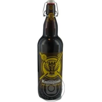 Пиво Kanapinis темное 5,3% 1л