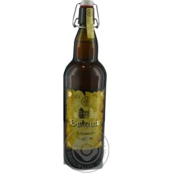 Пиво 1л 5% світле нефільтроване неосвітлене пастеризоване Butautu dvaro