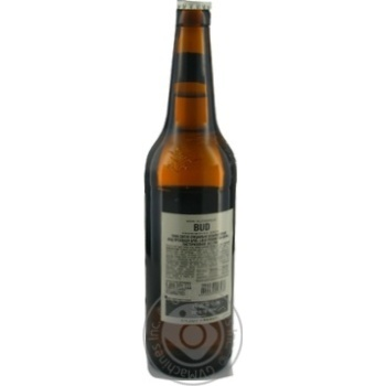 Bud Prohibition Brew non-alcoholic lager beer 0,5l glass - buy, prices for Novus - image 3