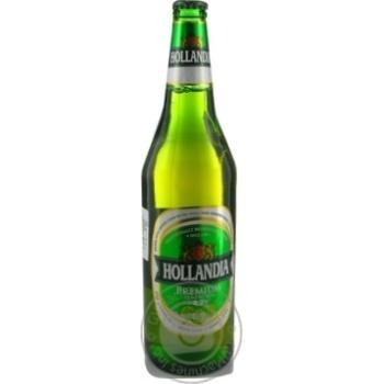 Lager Hollandia glass bottle 5%alc 650ml the Netherlands