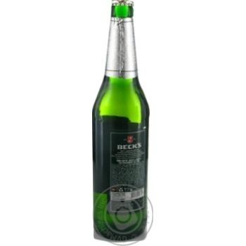 Пиво Beck's светлое 0,5л стекло - купить, цены на Novus - фото 3