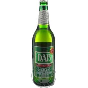 Пиво Даб Ориджинал светлое стеклянная бутылка 5%об. 660мл  Германия