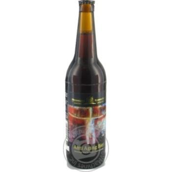 Пиво Kloster-Brau Anti Aging Bier темне  4,8% 0,5л - купити, ціни на Novus - фото 1
