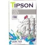 Tea Tipson Gray with oil of bergamot black 85g
