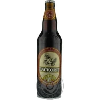 Напиток Вильнюс Бачкорю квасной газированный стеклянная бутылка 500мл Литва - купить, цены на Novus - фото 1