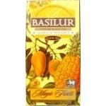 Tea Basilur Exotic pineapple black loose 100g cardboard packaging