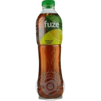 Напій Fuzetea Чорний чай зі смаком лимона негазований 1л - купити, ціни на Метро - фото 4
