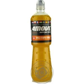 Напій безалкогольний ізотонічний негазований пастеризований зі смаком цитрусів Orange Flavour 4Move  750мл - купить, цены на Novus - фото 1
