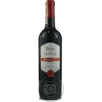 Brise de France Cabernet Sauvignon red dry wine 12,5% 0,75l - buy, prices for Novus - image 6
