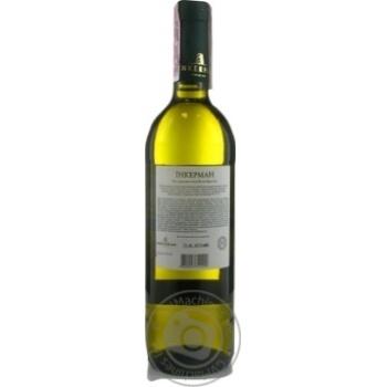 Вино Inkerman белое полусухое 12% 0,75л - купить, цены на Novus - фото 2