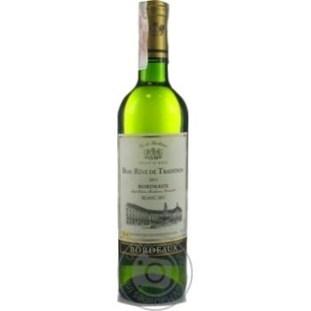 Вино Beau Reve de Tradition Blanc Sec Bordeaux белое сухое 12% 0,75л - купить, цены на Novus - фото 1