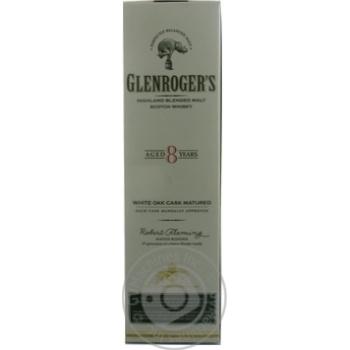 Glenroger's 8yrs whisky 40% 0,7l - buy, prices for Novus - image 1