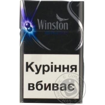 Сигареты Winston XS Plus Duo - купить, цены на Novus - фото 2