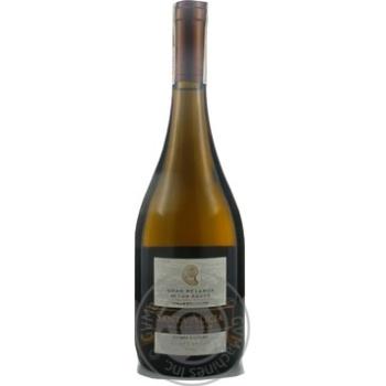 Вино Santa Alicia Gran Reserva Chardonnay Valle del Maipo біле сухе 13,5% 0,75л - купити, ціни на Novus - фото 1