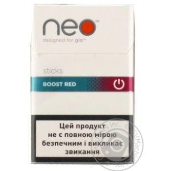 Стіки Kent Neostiks Boost Red 0,26г*20