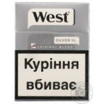 Сигареты West Silver XL 25 пачка