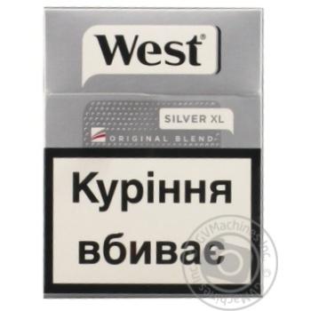 Сигареты West Original Blend Silver 25шт