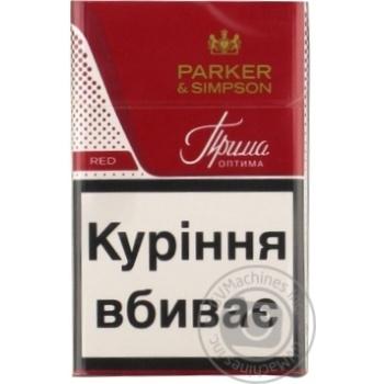 Сигареты Прима Parker&Simpson Red