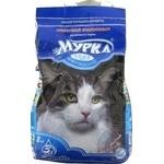 Наповнювач Мурка для котів середній з ароматом лаванди 2кг