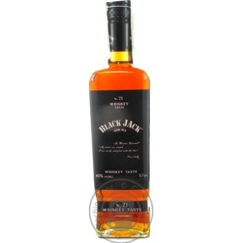 Виски Black Jack 40% 0.7л