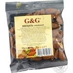 Nuts almond G&g fried 70g