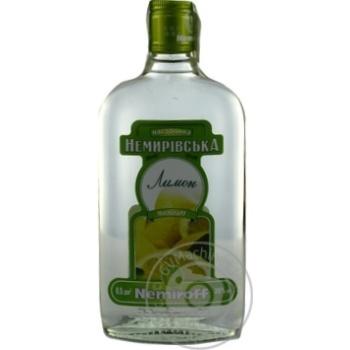 Настойка горькая Nemiroff Лимон 38% 500мл