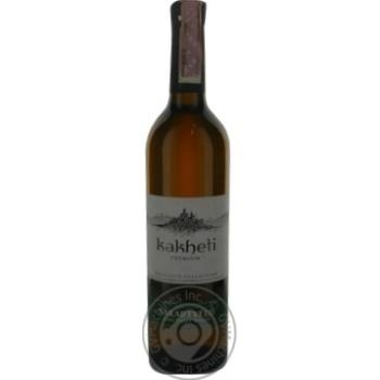 Вино Кахеті Сакартвело преміум біле н/солодке 0,75л х12