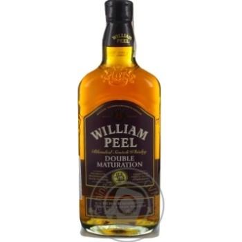 Виски William Peel Double Maturation 40% 0,7л