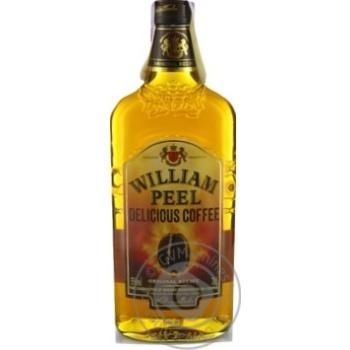 Ликер William Peel Delicious Coffee 35% 0.7л