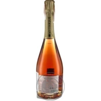 Mythique La Cuvee Brut Reserve Rose Pinot Noir pink dry sparkling wine 12,5% 0,75l - buy, prices for Novus - image 2