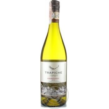 Вино Trapiche Chardonnay белое сухое 13.5% 0,75л