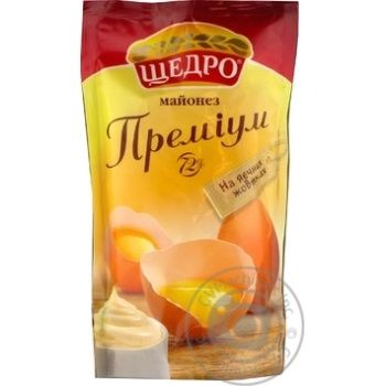 Mayonnaise Schedro Premium 72% 150g doypack - buy, prices for MegaMarket - image 1