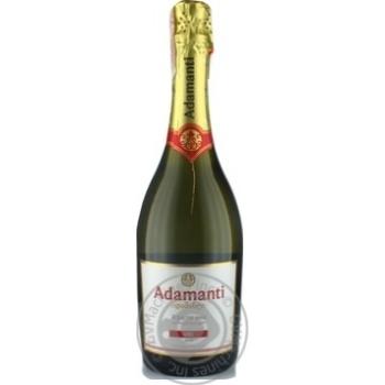 Sparkling wine Adamanti white brut 13% 750ml glass bottle Georgia - buy, prices for Furshet - image 7
